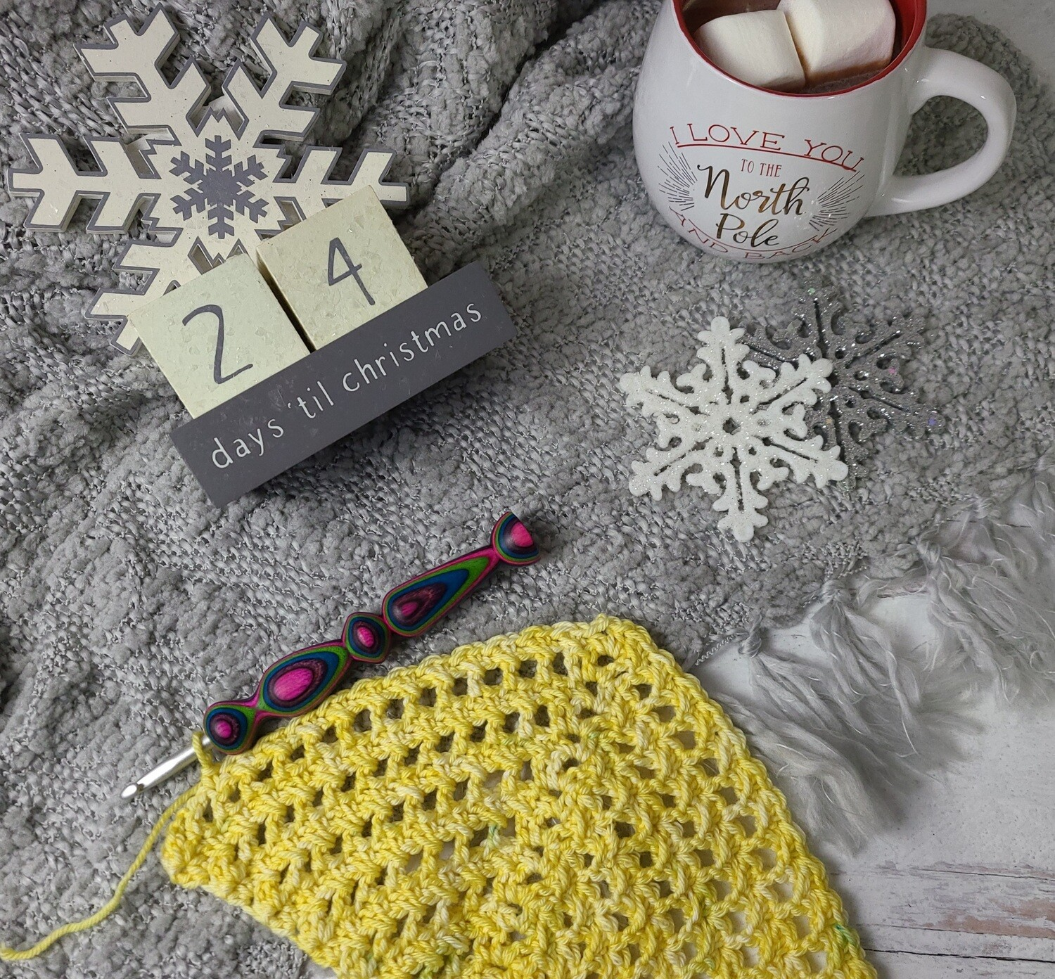 Northern Lights Crochet Hook