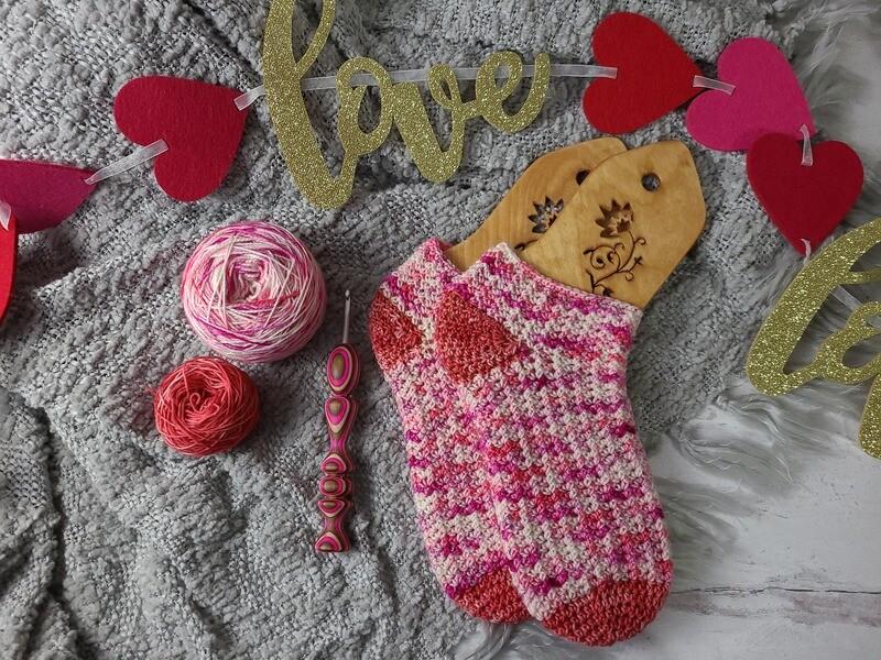 Confetti Sock Crochet Kit