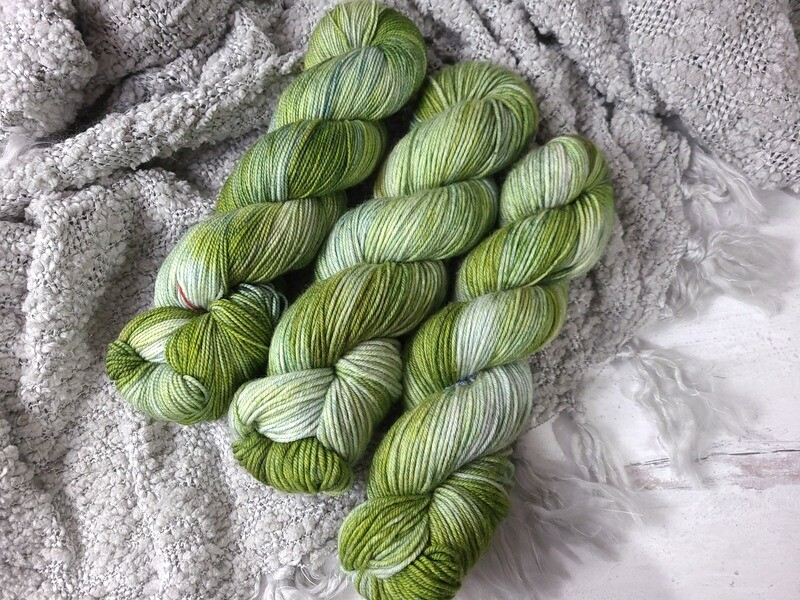 Garland (Sock and DK) Hand Dyed Yarn Ready to Ship