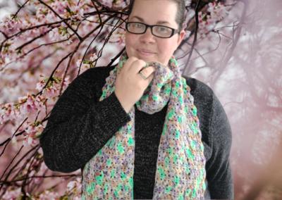 Japan Wrapped Scarf Crochet Kit