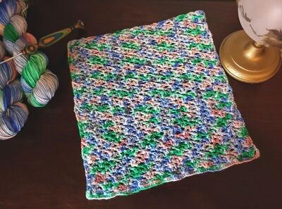 Square #7 Italy Crochet Square (Destination Blanket) PDF