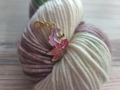Pink and Purple Mermaid Stitch Marker