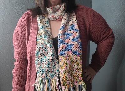 Road Trip Scarf Crochet Pattern