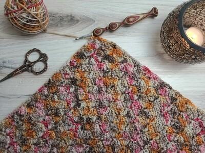 Square #12 Egypt Crochet Square (Destination Blanket) PDF