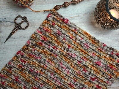 Square #13 Egypt Crochet Square (Destination Blanket) PDF