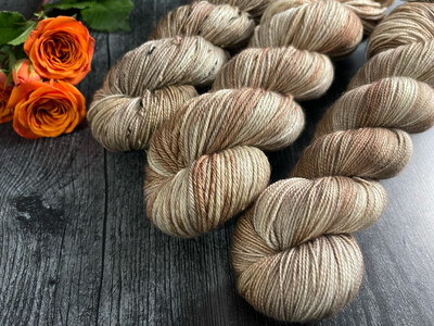 Apple Cider Hand Dyed Yarn - It's Fall Ya'll Collection