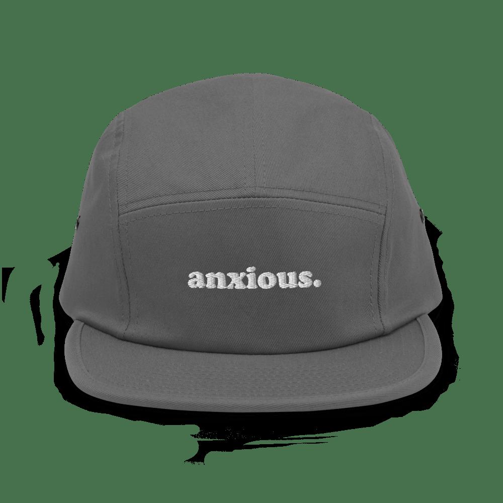 anxious. Five Panel Hat