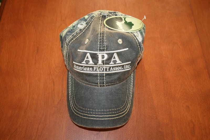 camo brown front hat