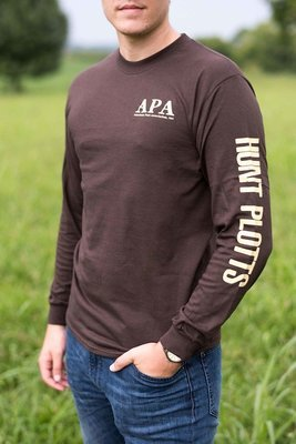 Brown Longsleeve T Shirt