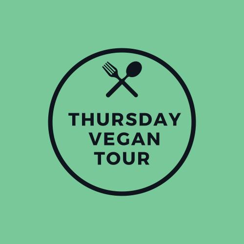 Vegan Food Tour, Thursday 23 September 2021