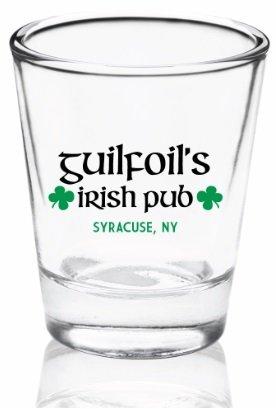 Guilfoil's Logo Shot Glass