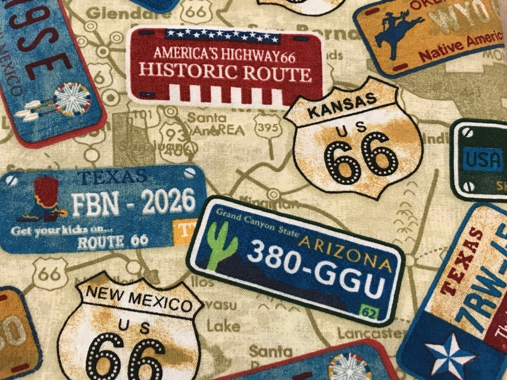 Route 66 Cotton Facemask