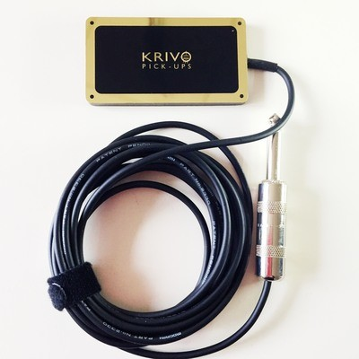 Krivo mini HumBucker Black Gold