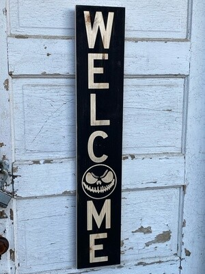 Spooky Welcome Sign