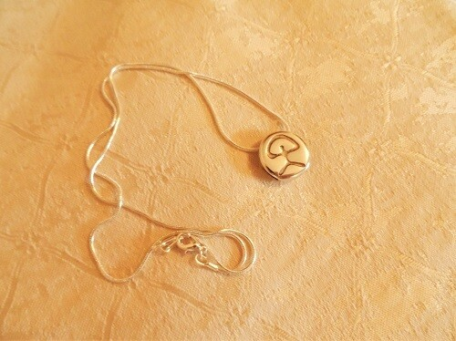 Indalo charm necklace - keep lucky and stay safe. Cost price gift