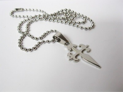 Safe Jewellery - St James cross necklace for safekeeping