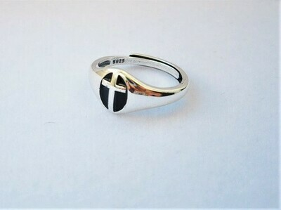 Christian Cross ring - gift for faith and support