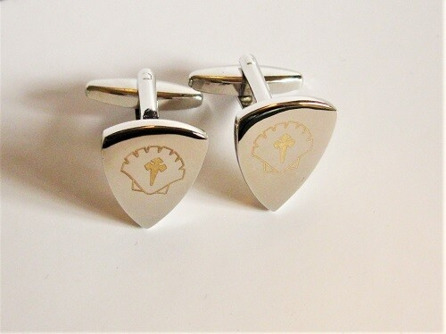 sAfe Jewellery - Travellers Shield cufflinks