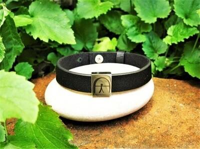 Indalo bracelet ~ for luck, protection + wellness