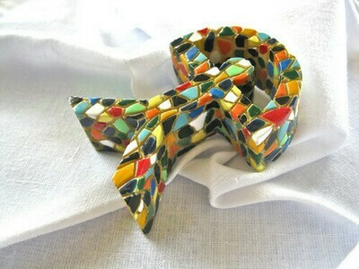 Mosaic Indalo statuette