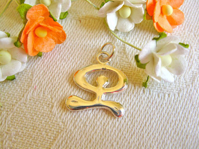 Indalo mojo ~ silver Indalo pendant, for protection + health