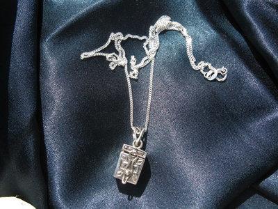Christian faith wish box necklace