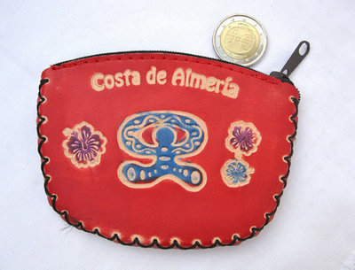 Spanish Leather Purse ~ Indalo de Almeria