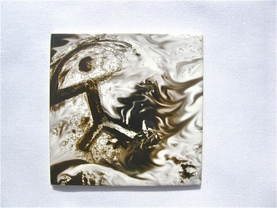 Indalo tile ~ Inferno, glazed