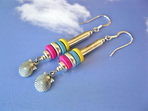 Life Path Zodiac charm earrings ~ nazca