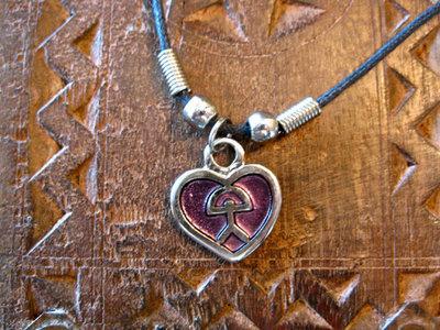 Heart pendant ~ Indalo classic, metal