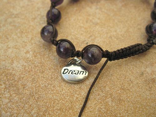 Shamballa bracelet ~ Dreams, amethyst