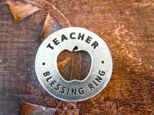 Blessing ring for Teachers