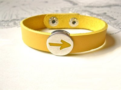 Camino de Santiago Arrow symbol bracelet ~ to say Have Faith