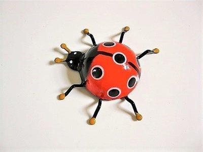 Lucky Ladybird fridge magnet ~ Mari