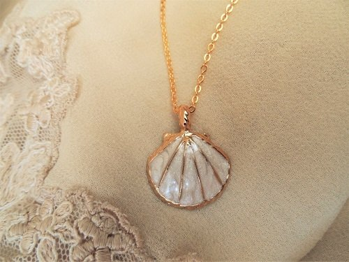 Camino jewellery necklace ~ gold plated, ideal for new adventures