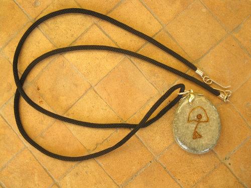 Charm necklace - pebble, Indalo DREAMS