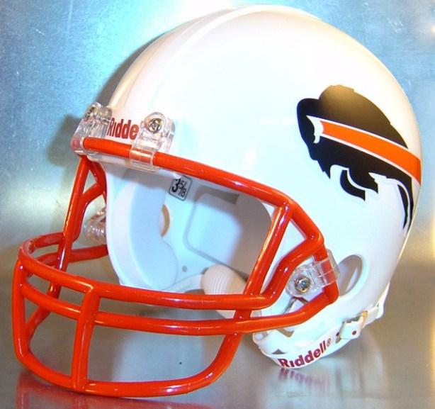 Beaumont French Buffaloes HS 1985 (TX) - mini-helmet