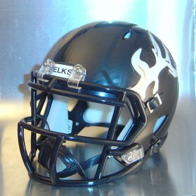 Cotton Center Elks HS 2011 to 2012 (TX) - mini-helmet