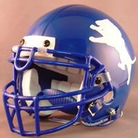 John Tyler Lions HS 2006-2009 (TX) - mini-helmet