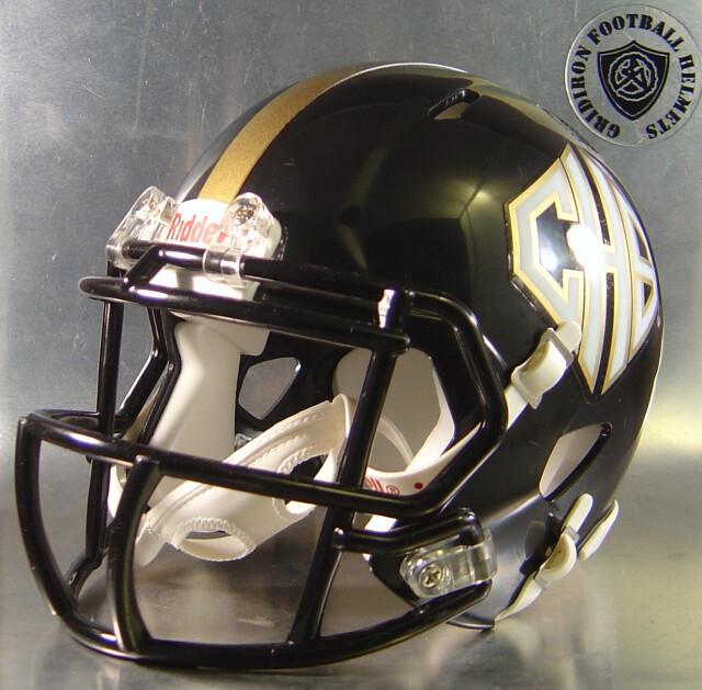 Port Lavaca Calhoun Sandcrabs HS 2007 to 2015 (TX) - mini-helmet