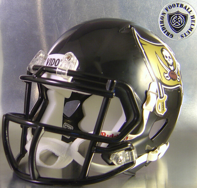 Vidor Pirates 1998 & 2007-2011 HS (TX) - mini-helmet