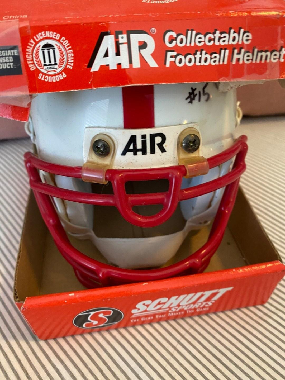 Tommie Frazier- Signed Nebraska mini helmet