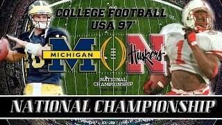 1997 National Championship Controversy  Nebraska or Michigan 2-pack