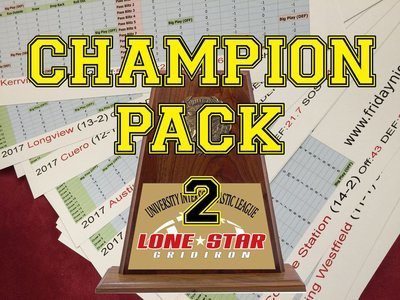 2017 Texas Champions Pack 2