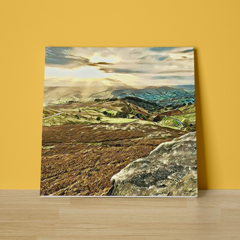 The Hope Valley Canvas Print