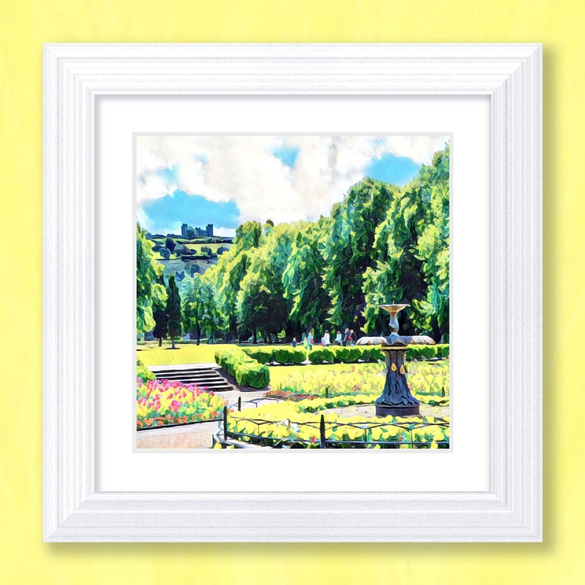 Hall Leys Park Art Print