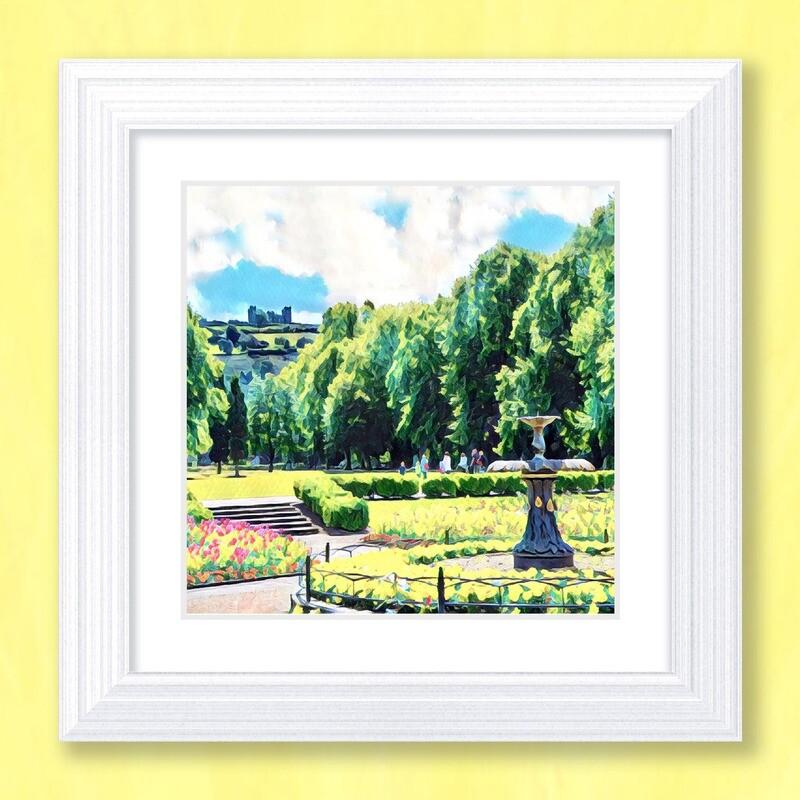 Hall Leys Park Art Print