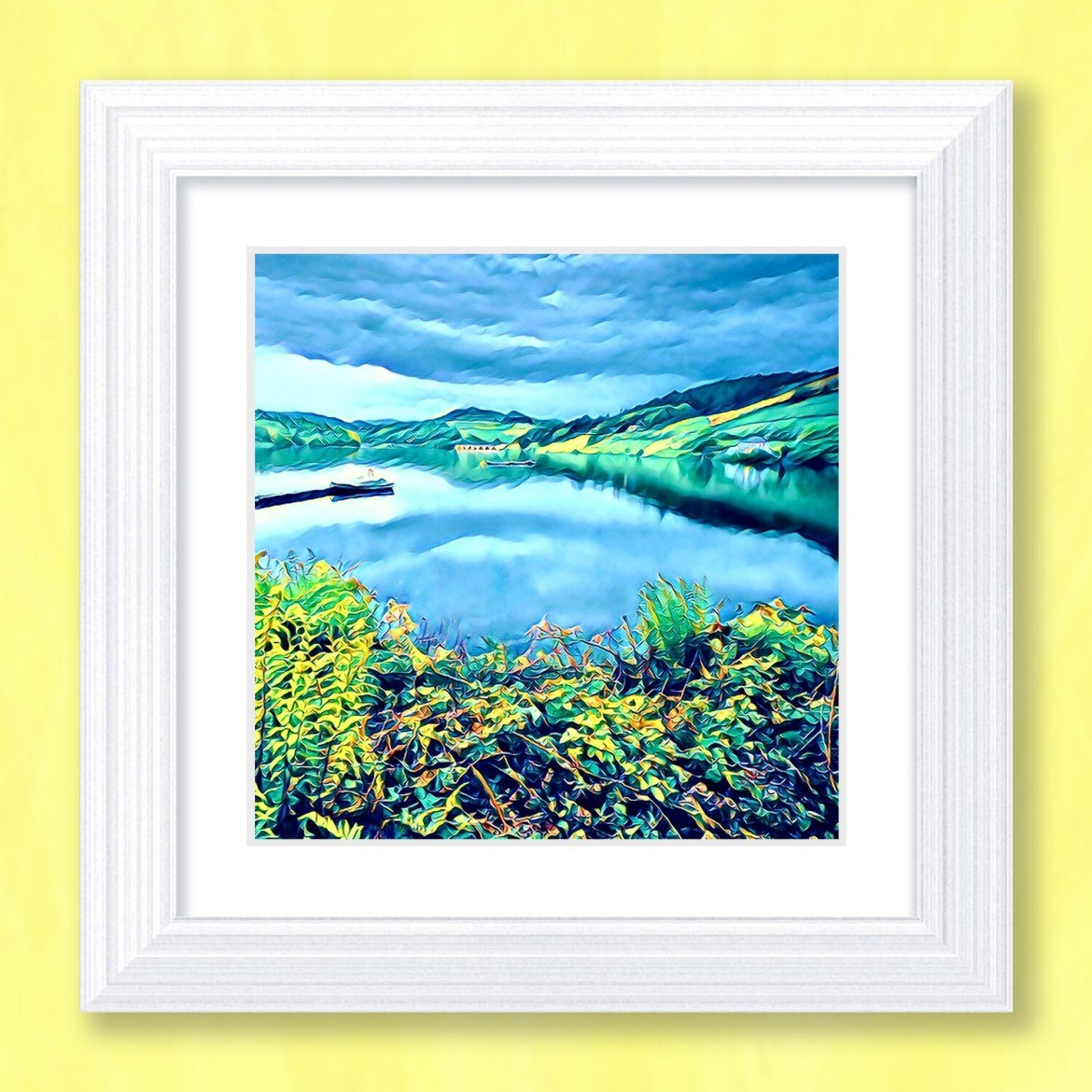 Ladybower Reflections Art Print