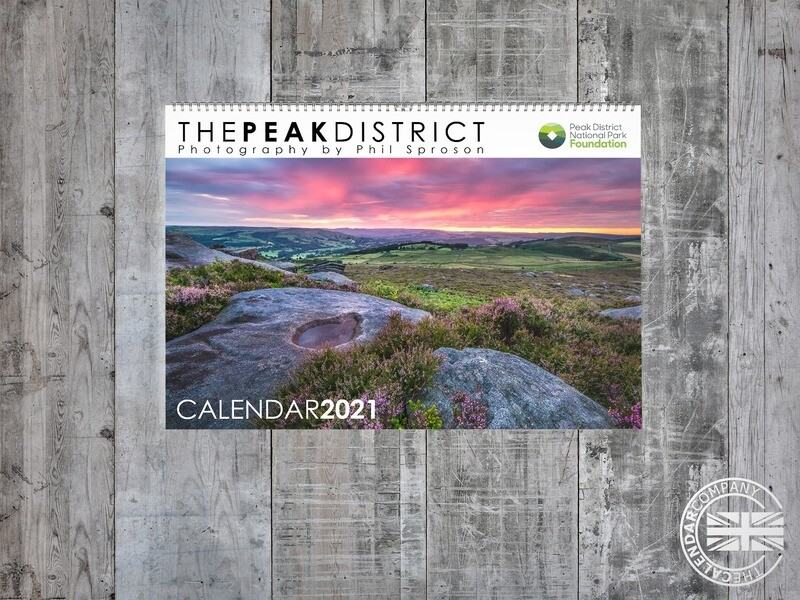 Peak District Charity Calendar 2021