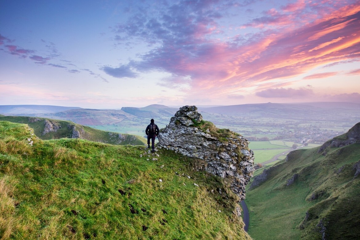 Winnats Pass View Sunrise